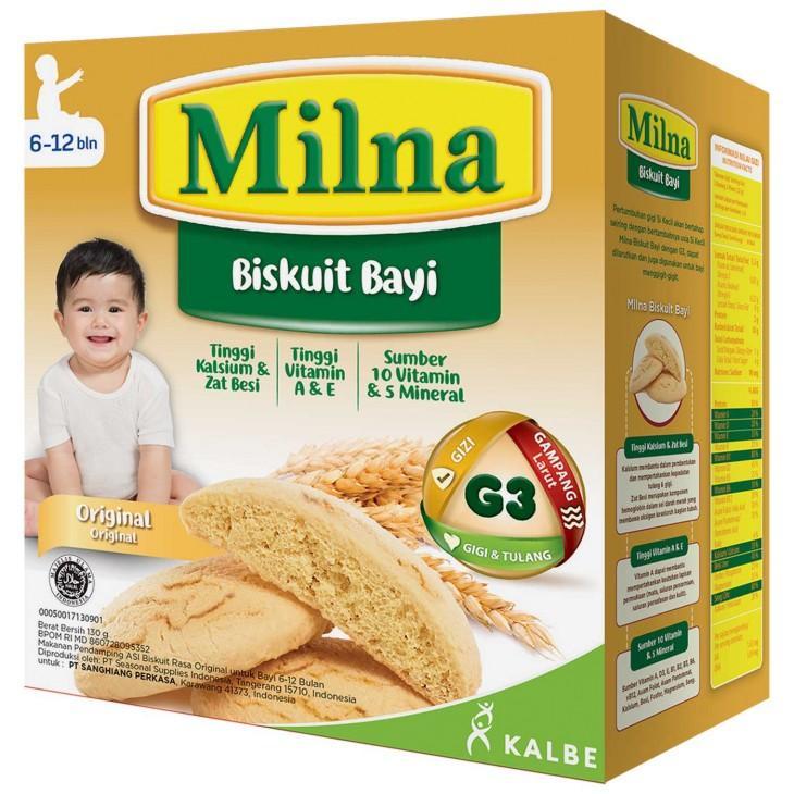 Milna Baby Biscuit Original 130 gr
