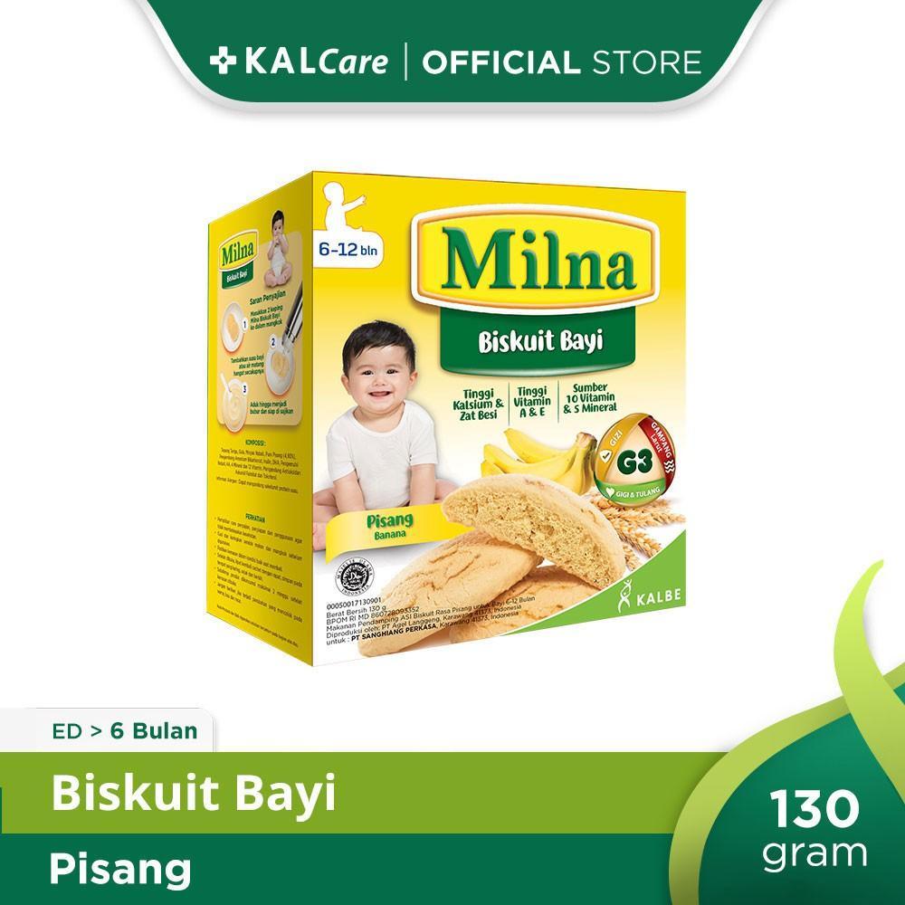 Milna Baby Biscuit Pisang 130 G