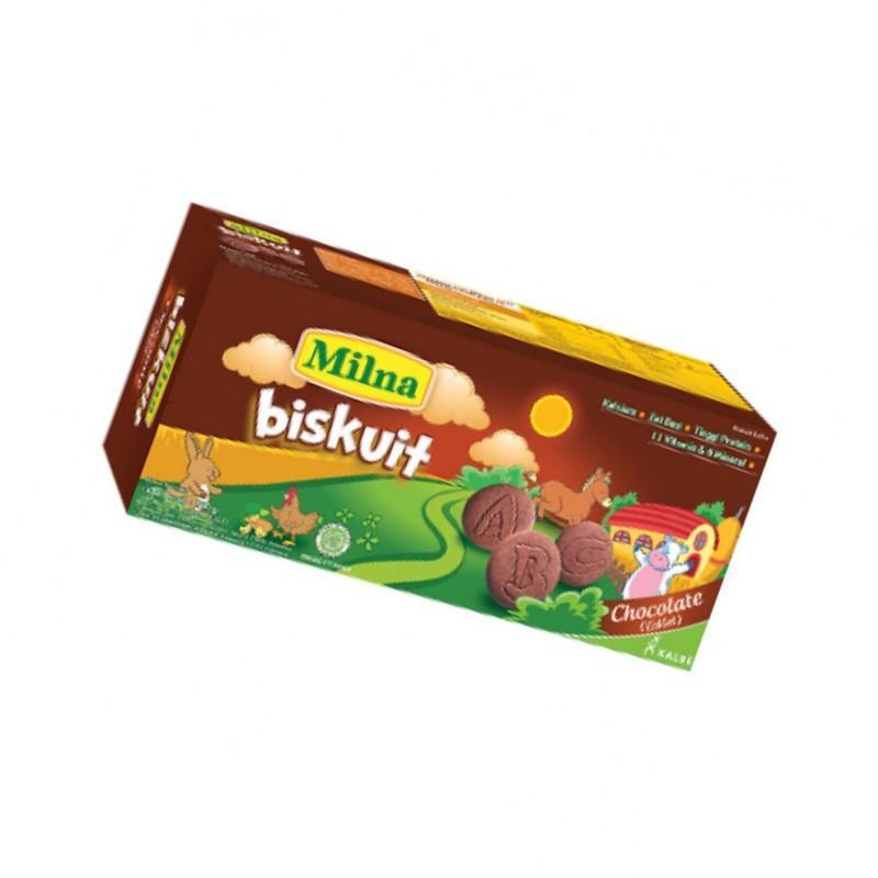 Milna Biskuit Toddler Coklat 110 gr