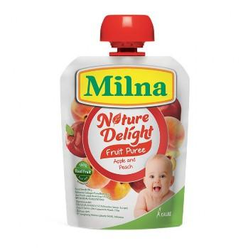 Harga-Milna Nature Delight Apple Peach 80 gr