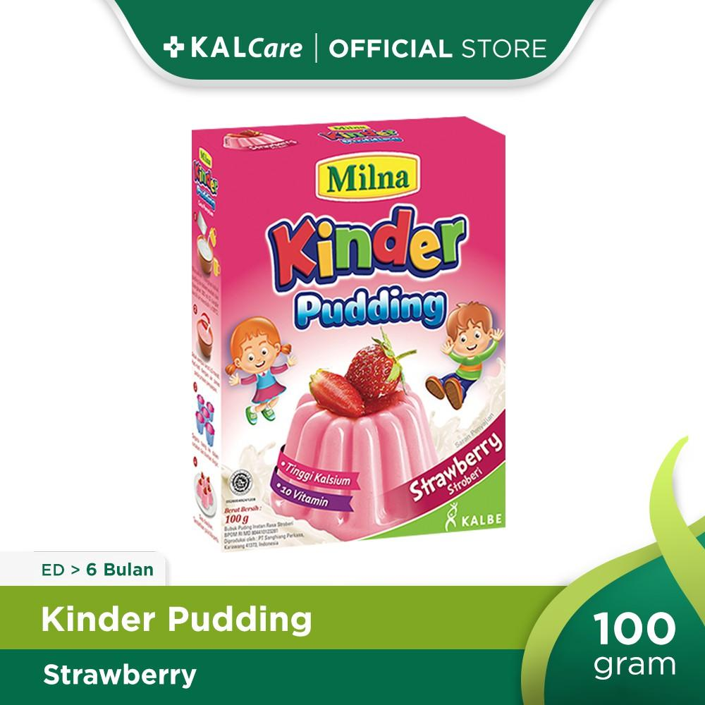 Milna Toddler Puding Strawberry 100 G
