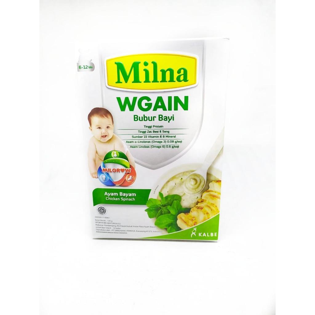 Harga-Milna WGAIN - Bubur Bayi ( 6 Bulan +)