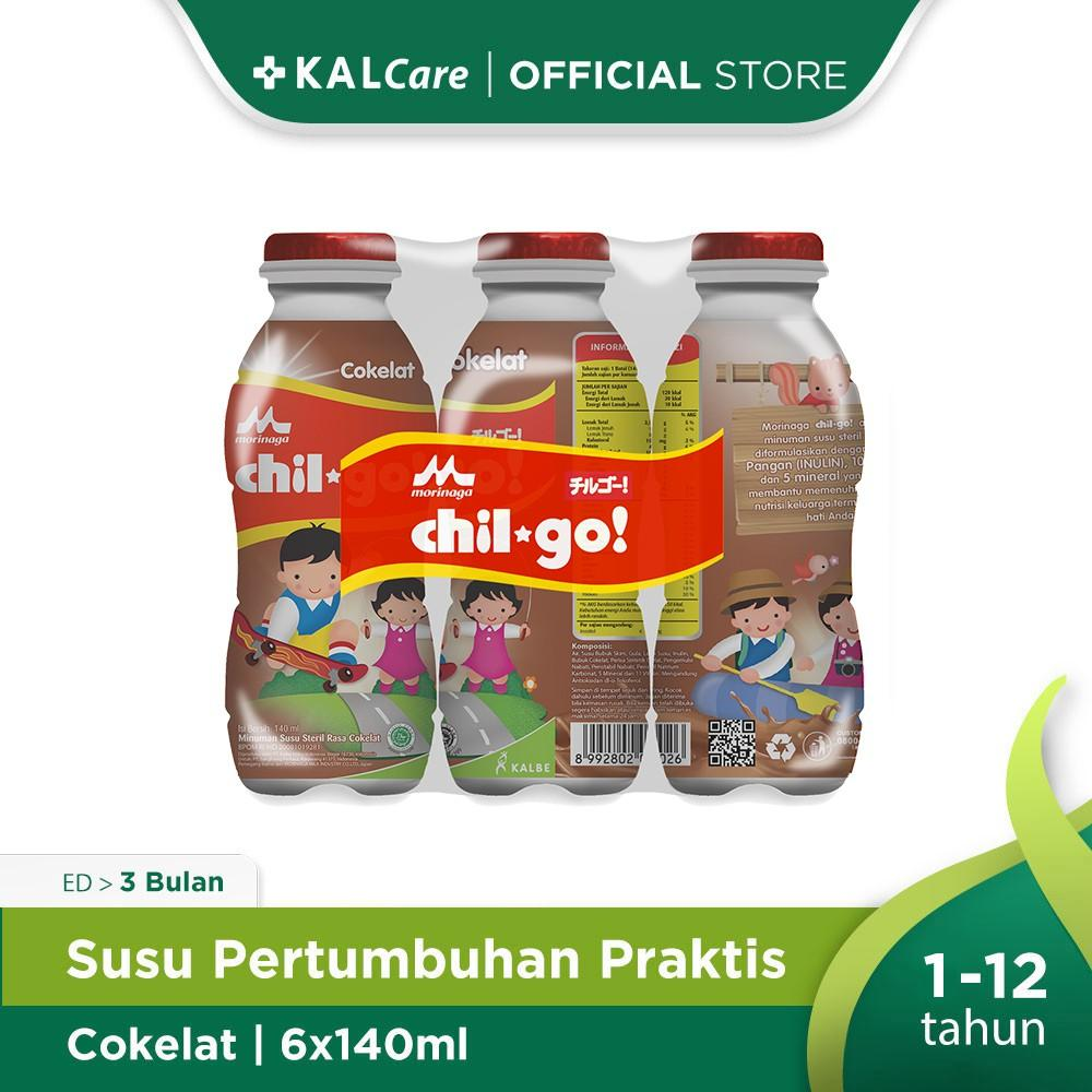 Harga-Morinaga Chil Go Milk Chocolate 6X140 ml