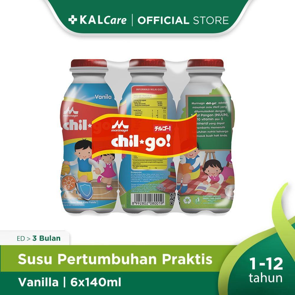 Harga-Morinaga Chil Go Milk Vanila 6X140 ml