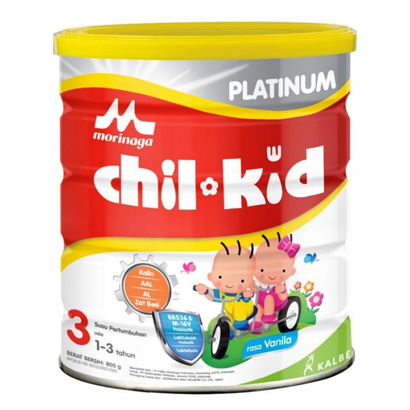Harga-Morinaga Chil Kid Platinum 3 Vanila 800 gr