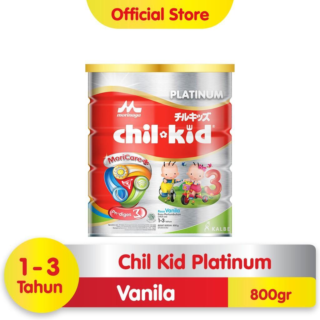 Harga-Morinaga Chil Kid Platinum Moricare+ Vanila 800 gr