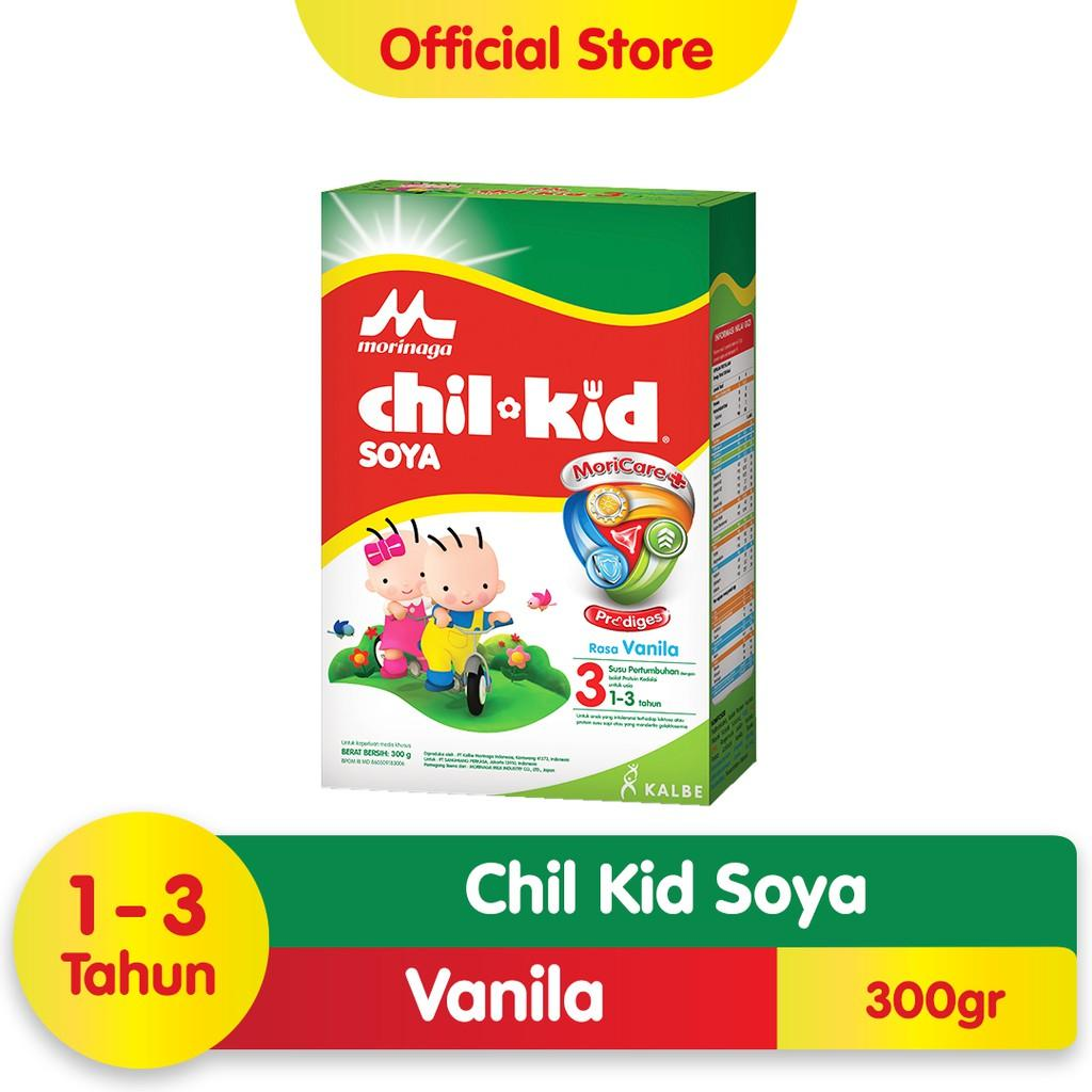 Harga-Morinaga Chil Kid Soya Moricare+ Prodiges Vanila 300 gr