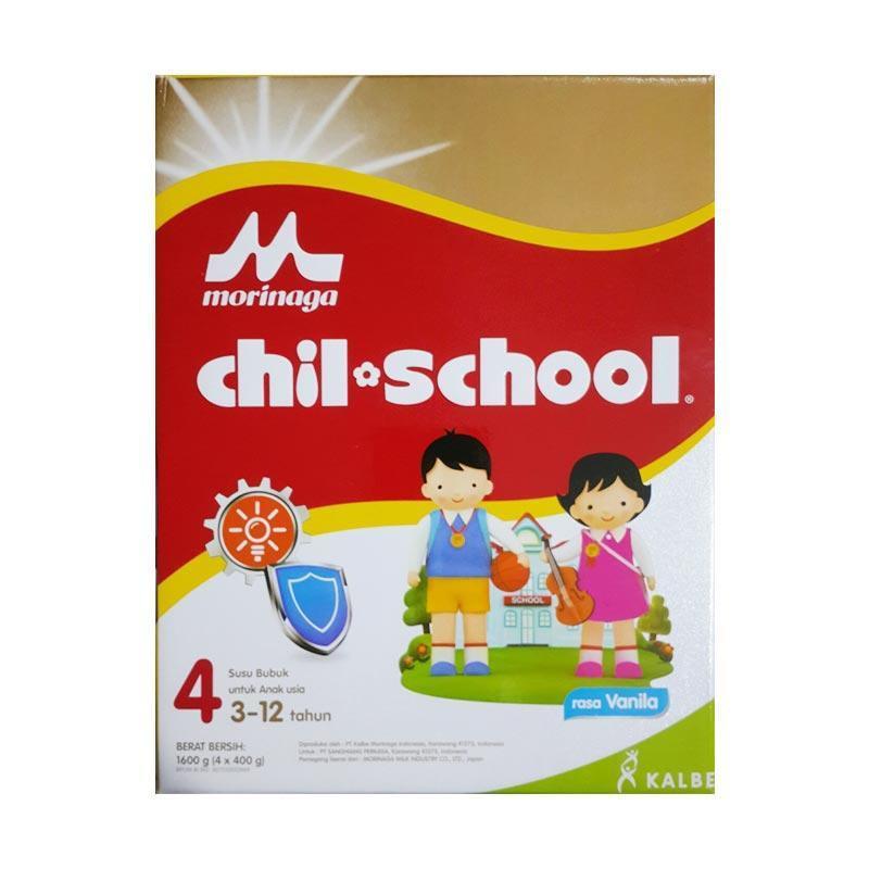 Harga-Morinaga Chil School 4 Vanila 1600 gr