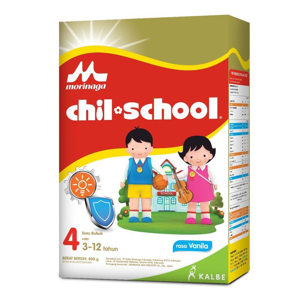 Harga-Morinaga Chil School 4 Vanila 400 gr