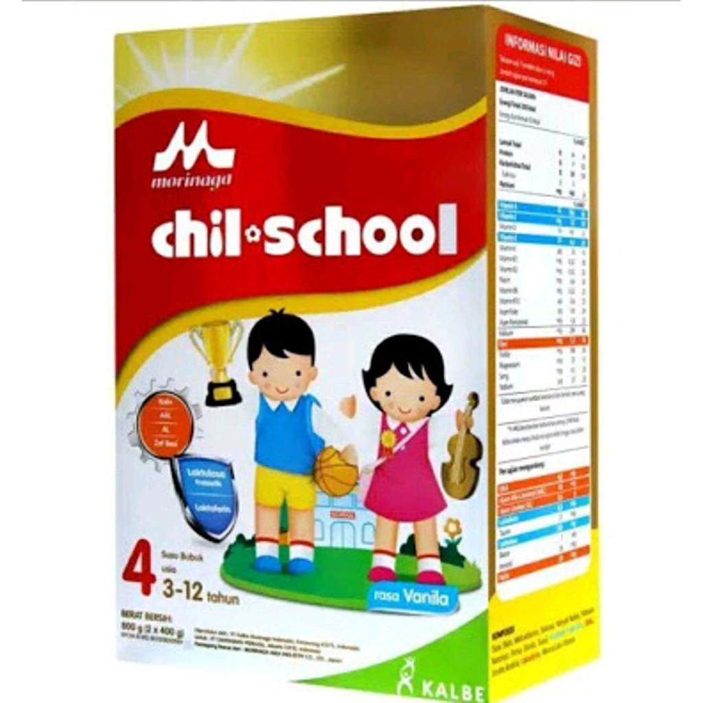 Harga-Morinaga Chil School 4 Vanila 800 gr
