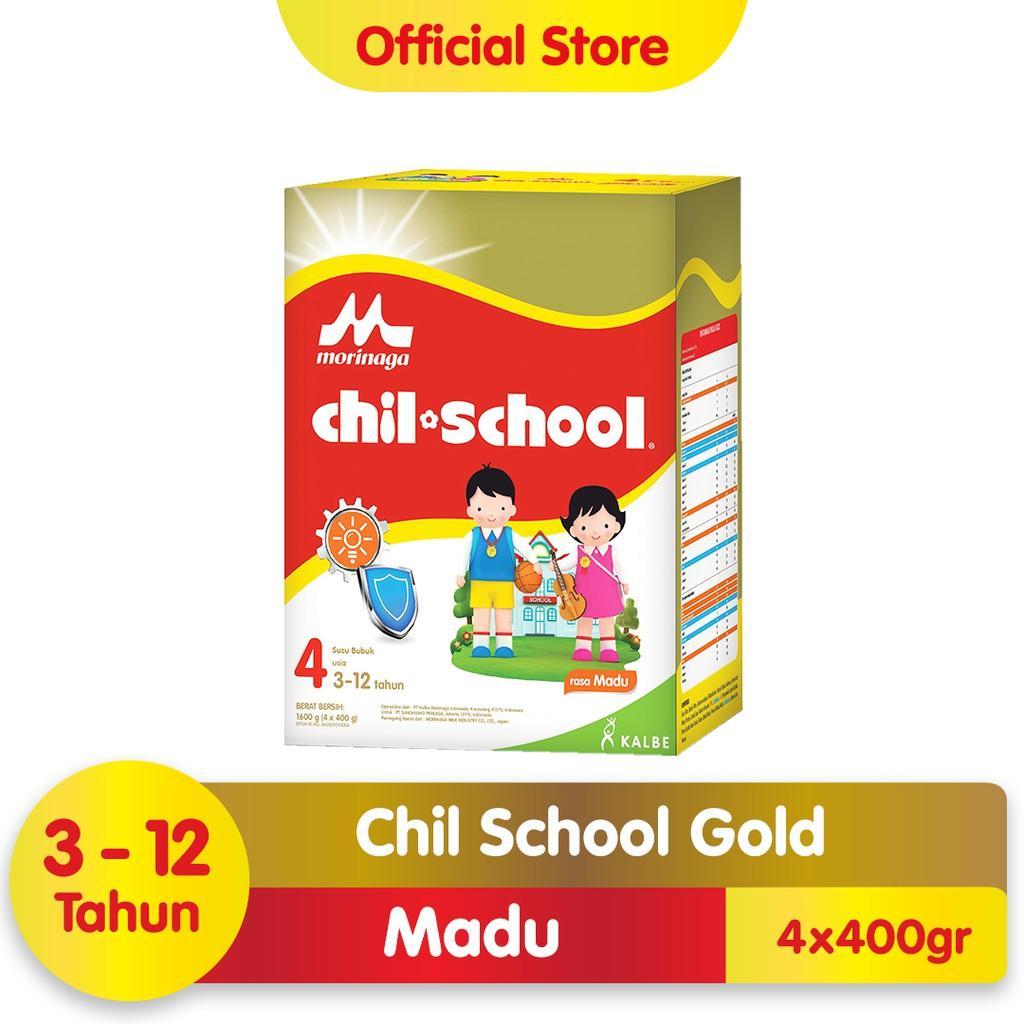 Harga-Morinaga Chil School Gold Madu 1600 gr
