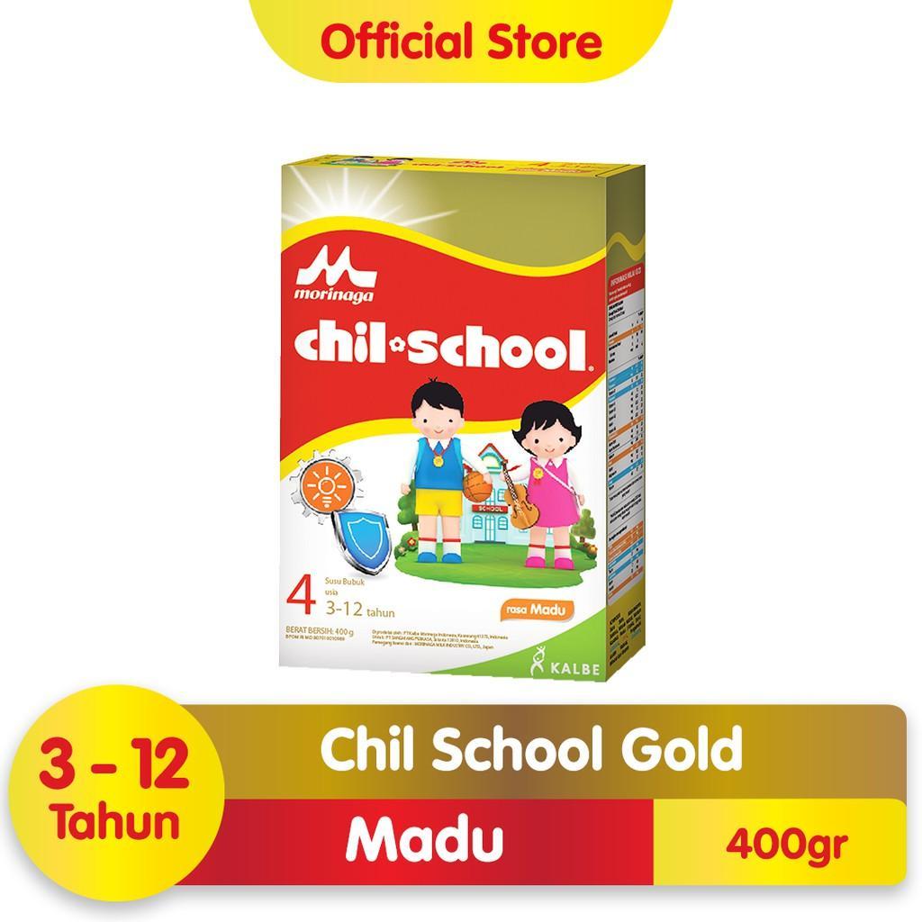 Harga-Morinaga Chil School Gold Madu 400 gr