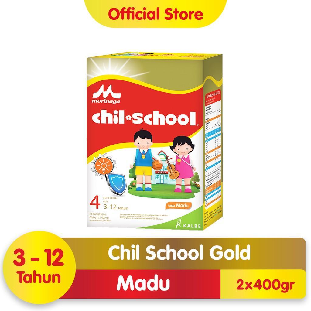 Harga-Morinaga Chil School Gold Madu 800 gr