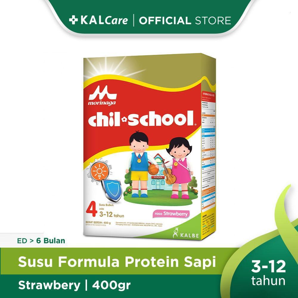 Harga-Morinaga Chil School Gold Strawberry 400 gr