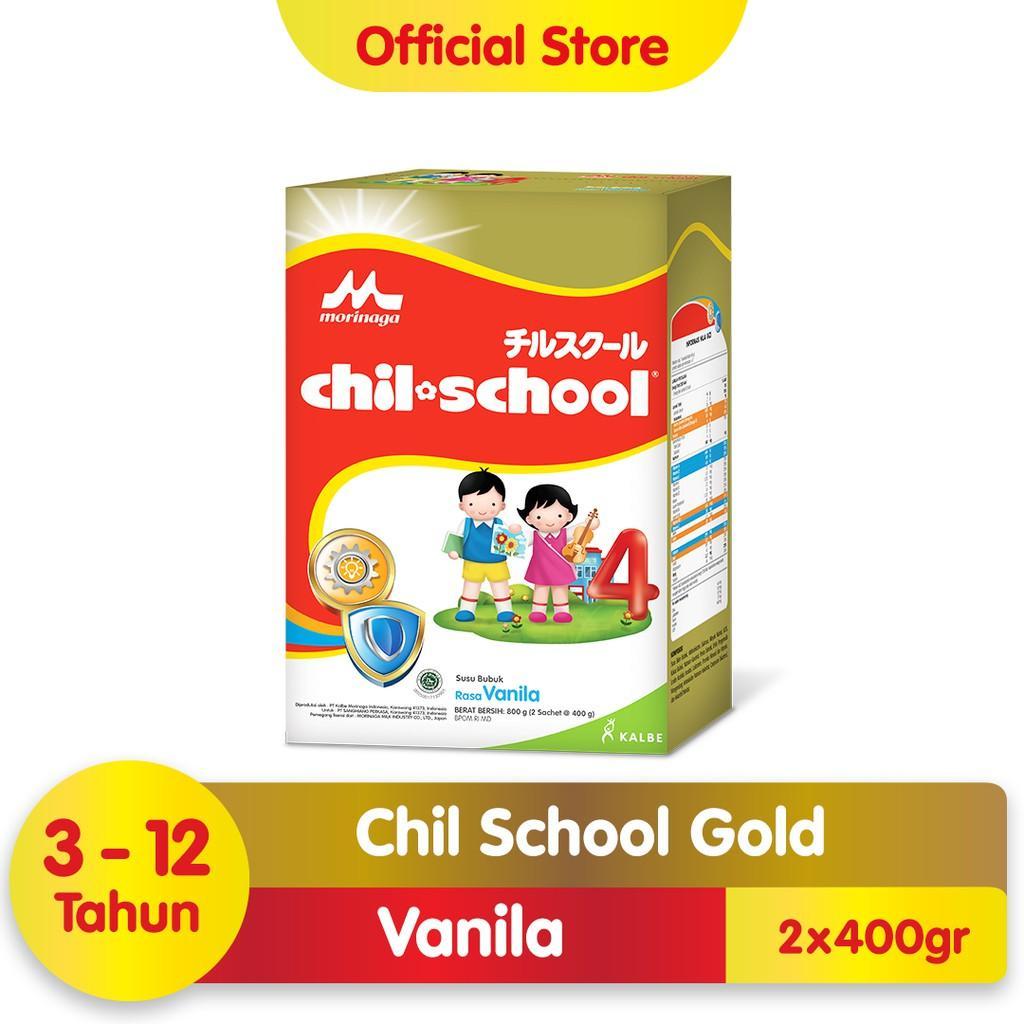 Harga-Morinaga Chil School Gold Vanila 800 gr