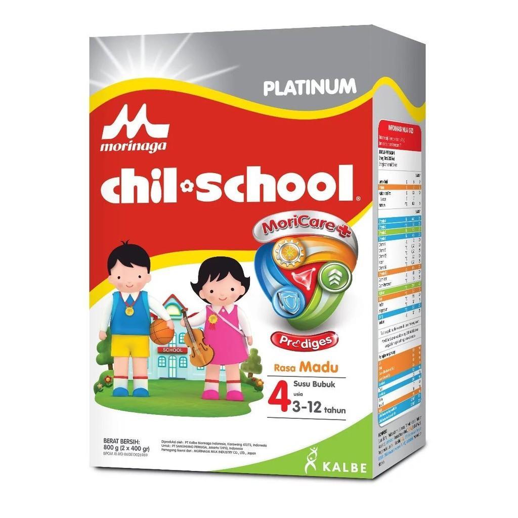 Harga-Morinaga Chil School Platinum 4 Madu 800 gr - Susu Pertumbuhan
