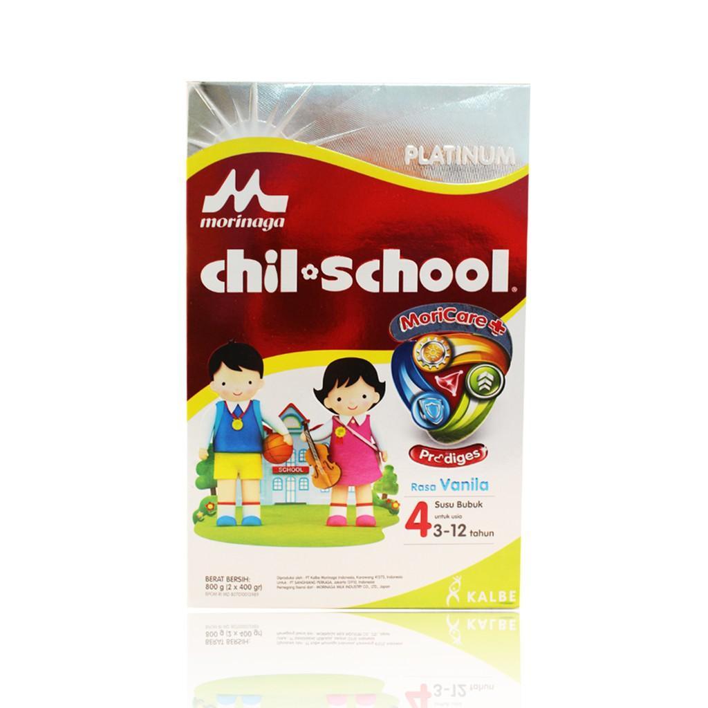 Harga-Morinaga Chil School Platinum 4 Vanila 800 gr - Susu Pertumbuhan