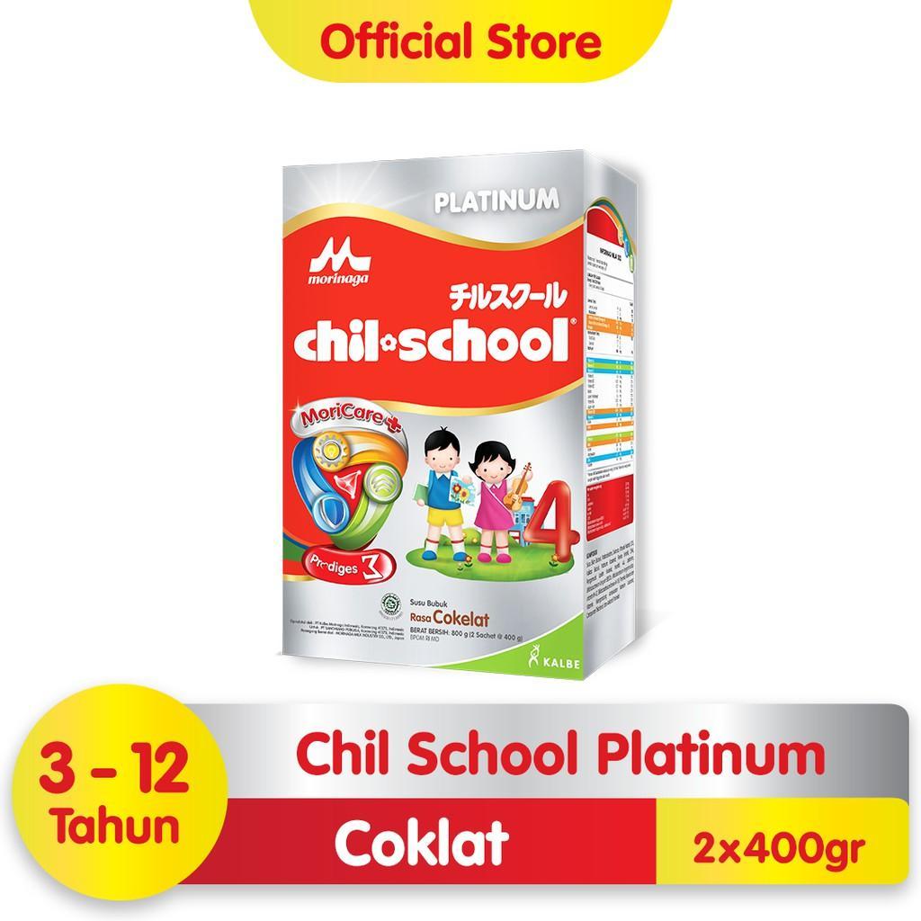 Harga-Morinaga Chil School Platinum Moricare+ Coklat 800 gr