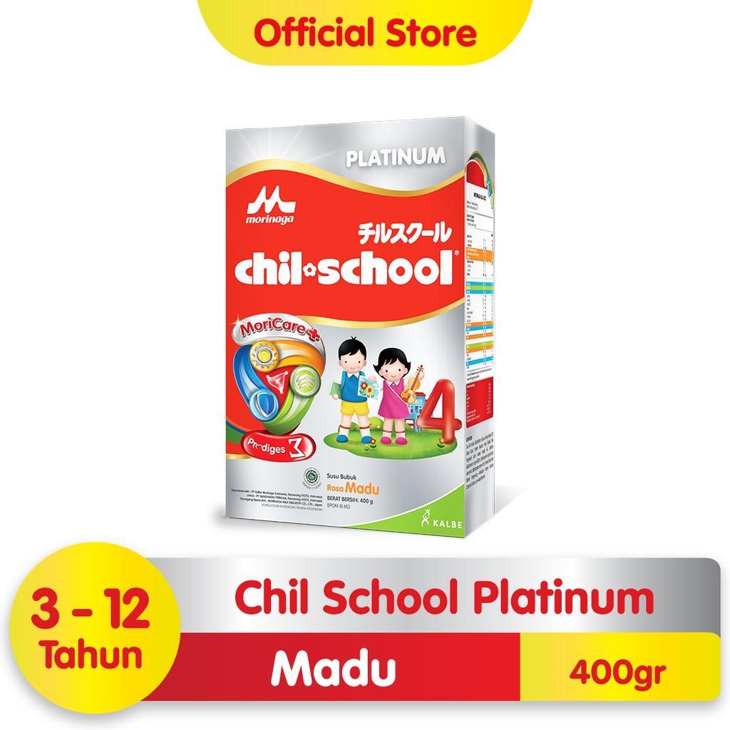 Harga-Morinaga Chil School Platinum Moricare+ Madu 400 gr