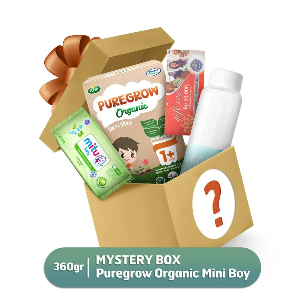 Harga-Mystery Box Pure grow Organic Mini Boy