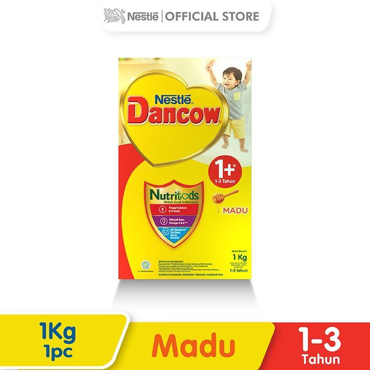 Harga-Nestle Dancow 1+ Nutritods Madu 1-3 Tahun Box 1 kg
