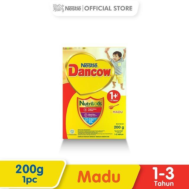 Harga-Nestle Dancow 1+ Nutritods Madu 1-3 Tahun Box 200 g