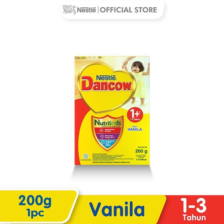 Harga-Nestle Dancow 1+ Nutritods Vanila 1-3 Tahun Box 200 g