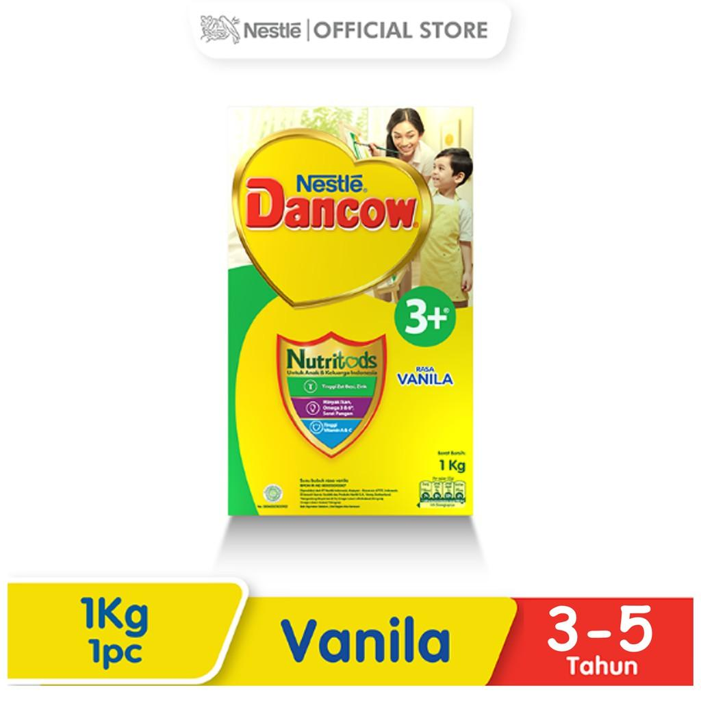 Harga-Nestle Dancow 3+ Nutritods Vanila 3-5 Tahun Box 1 kg