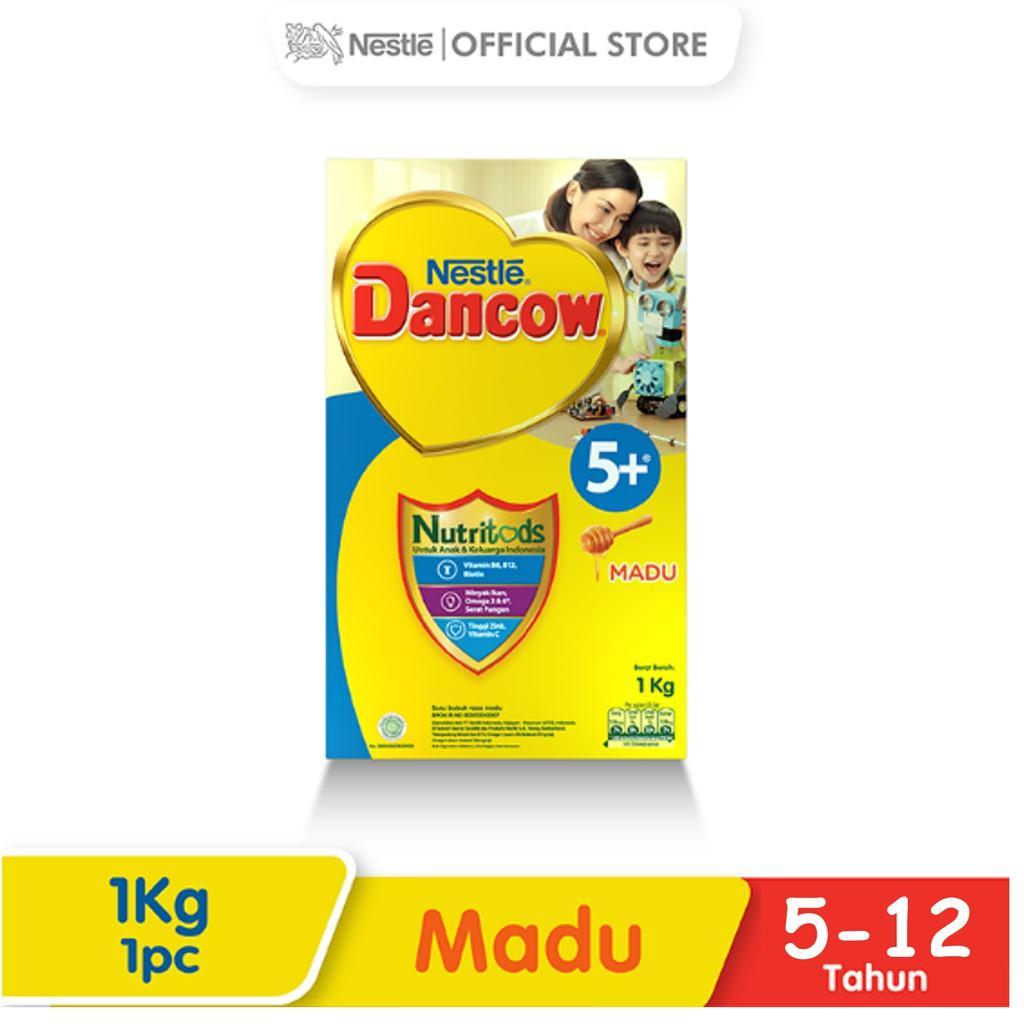Harga-Nestle Dancow 5+ Nutritods Madu 5-12 Tahun Box 1 kg
