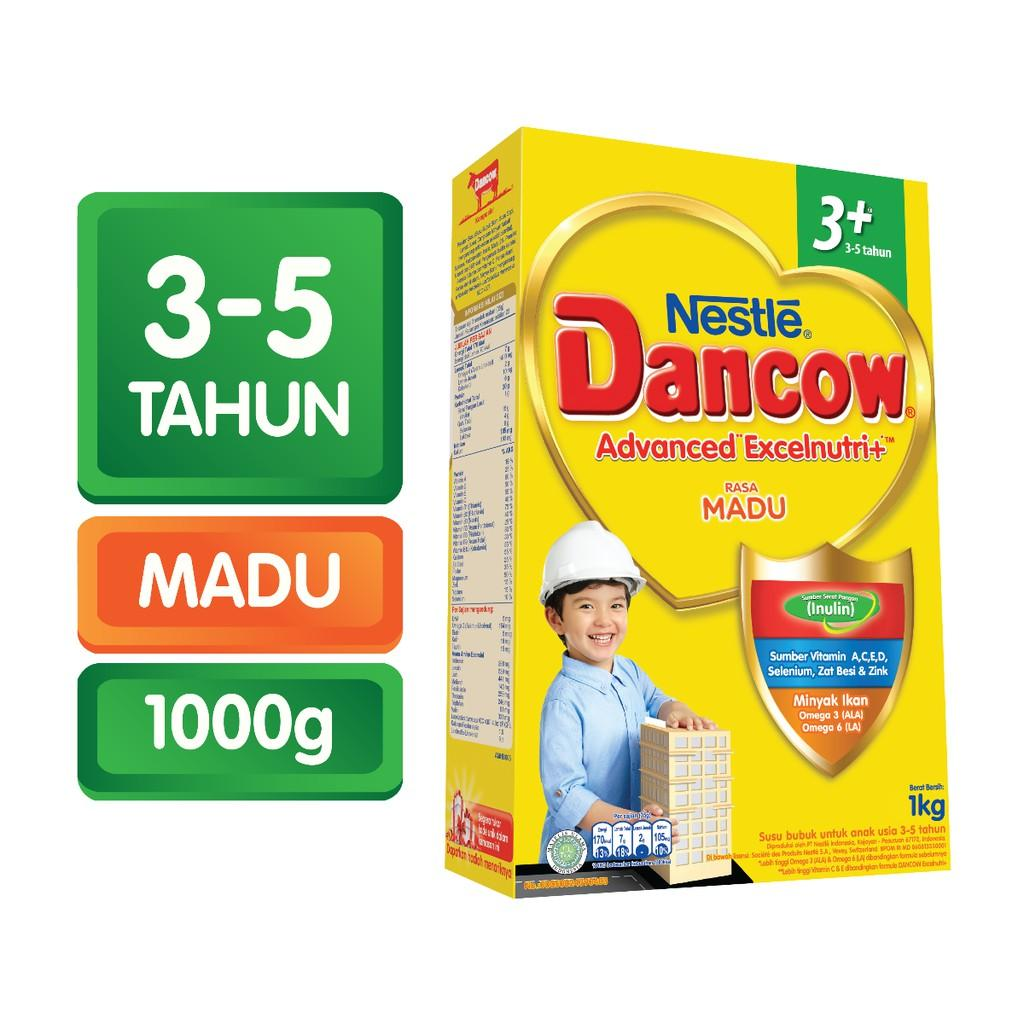 Harga-Nestle Dancow Advanced Excelnutri+ 3+ Madu 1000 gr