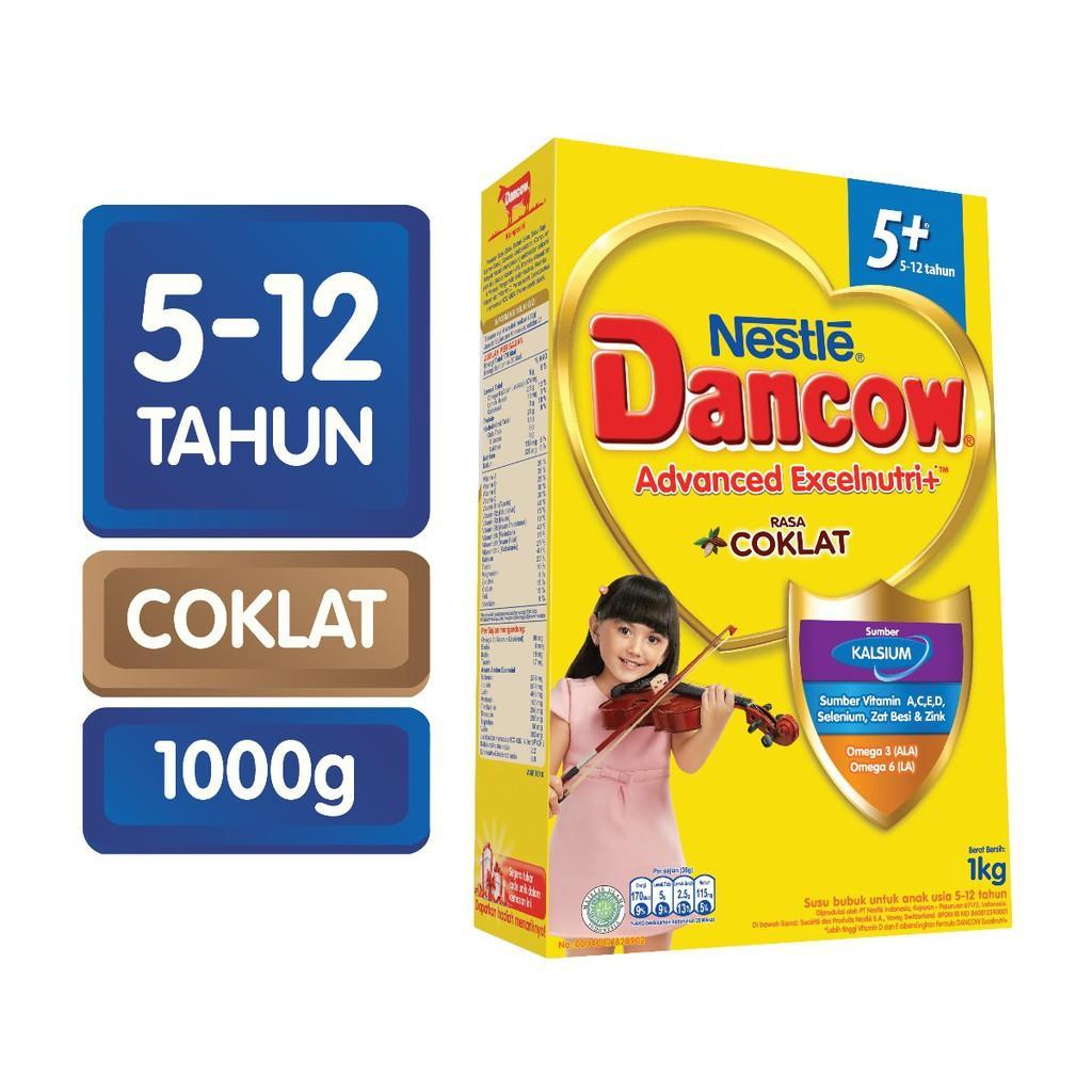 Harga-Nestle Dancow Advanced Excelnutri+ 5+ Cokelat 1000 gr