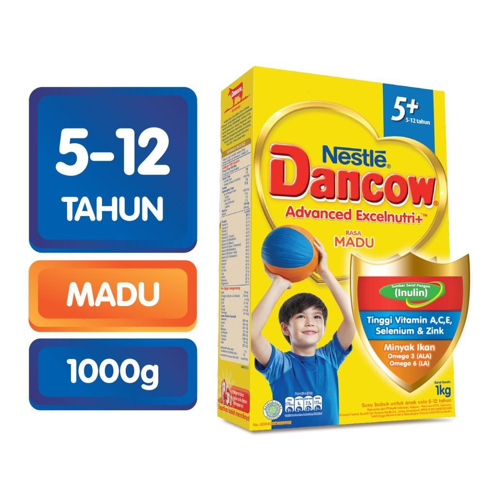 Harga-Nestle Dancow Advanced Excelnutri+ 5+ Madu 1000 gr