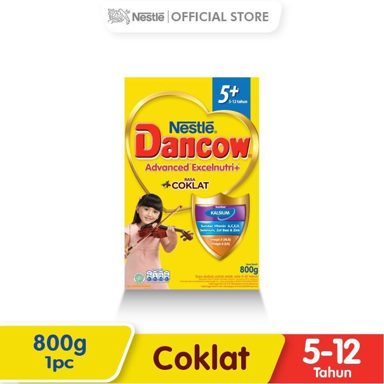 Harga-Nestle Dancow Advanced Excelnutri Cokelat 5-12 Tahun Box 800 g