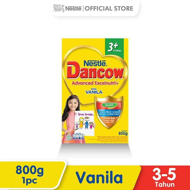 Harga-Nestle Dancow Advanced Excelnutri Vanila 3-5 Tahun Box 800 g