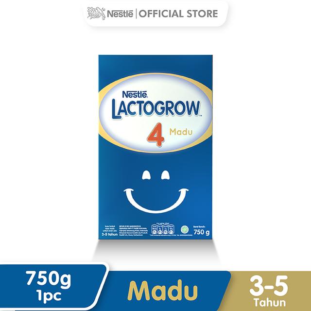 Harga-Nestle Lacto grow 4 Madu 3-5 Tahun Box 750 g
