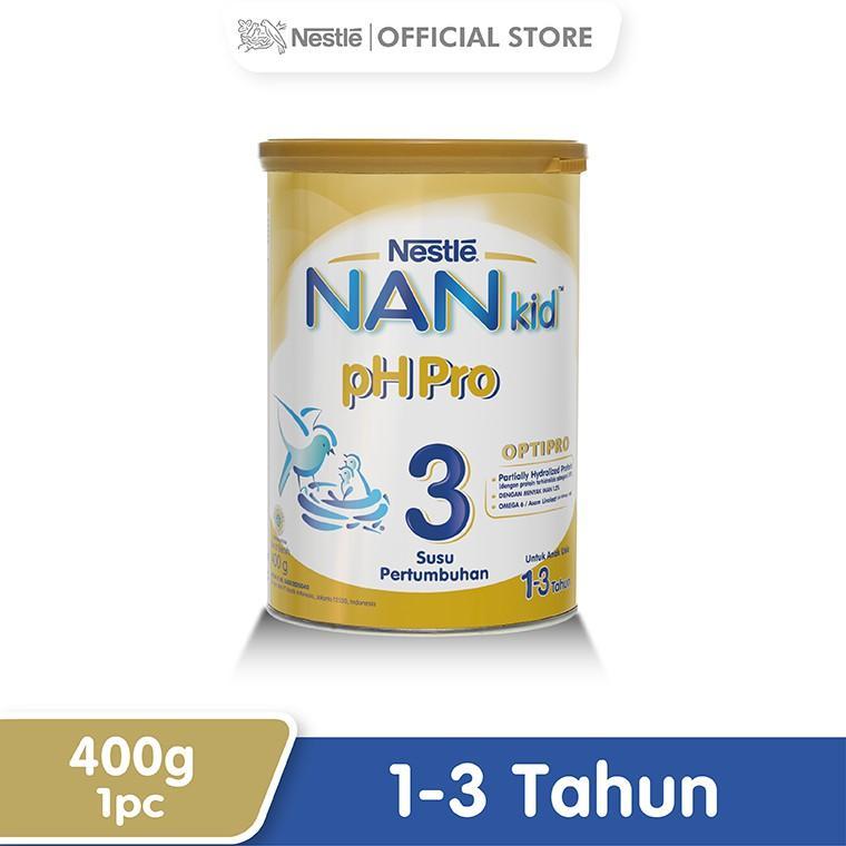 Harga-Nestle Nan Ph Pro Optipro Susu Pertumbuhan 1-3 Tahun Kaleng 400 g