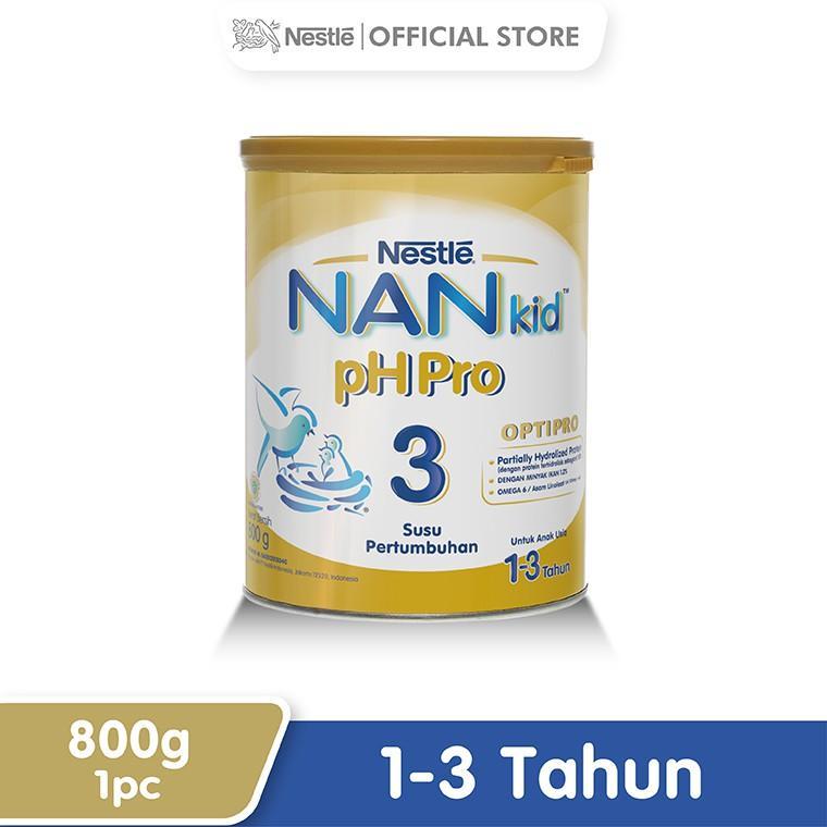 Harga-Nestle Nan Ph Pro Optipro Susu Pertumbuhan 1-3 Tahun Kaleng 800 g
