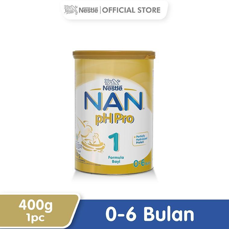 Harga-Nestle Nan Ph Pro Susu Formula 0-6 Bulan Kaleng 400 g