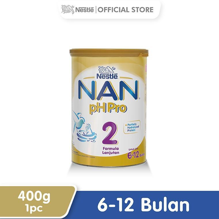 Harga-Nestle Nan Ph Pro Susu Formula 6-12 Bulan Kaleng 400 g