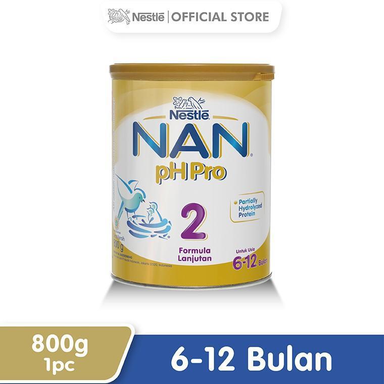 Harga-Nestle Nan Ph Pro Susu Formula 6-12 Bulan Kaleng 800 g