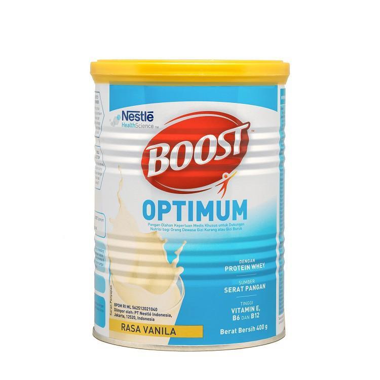 Harga-Nestle Nutren Boost Optimum Vanila 400 gr - Susu pertumbuhan