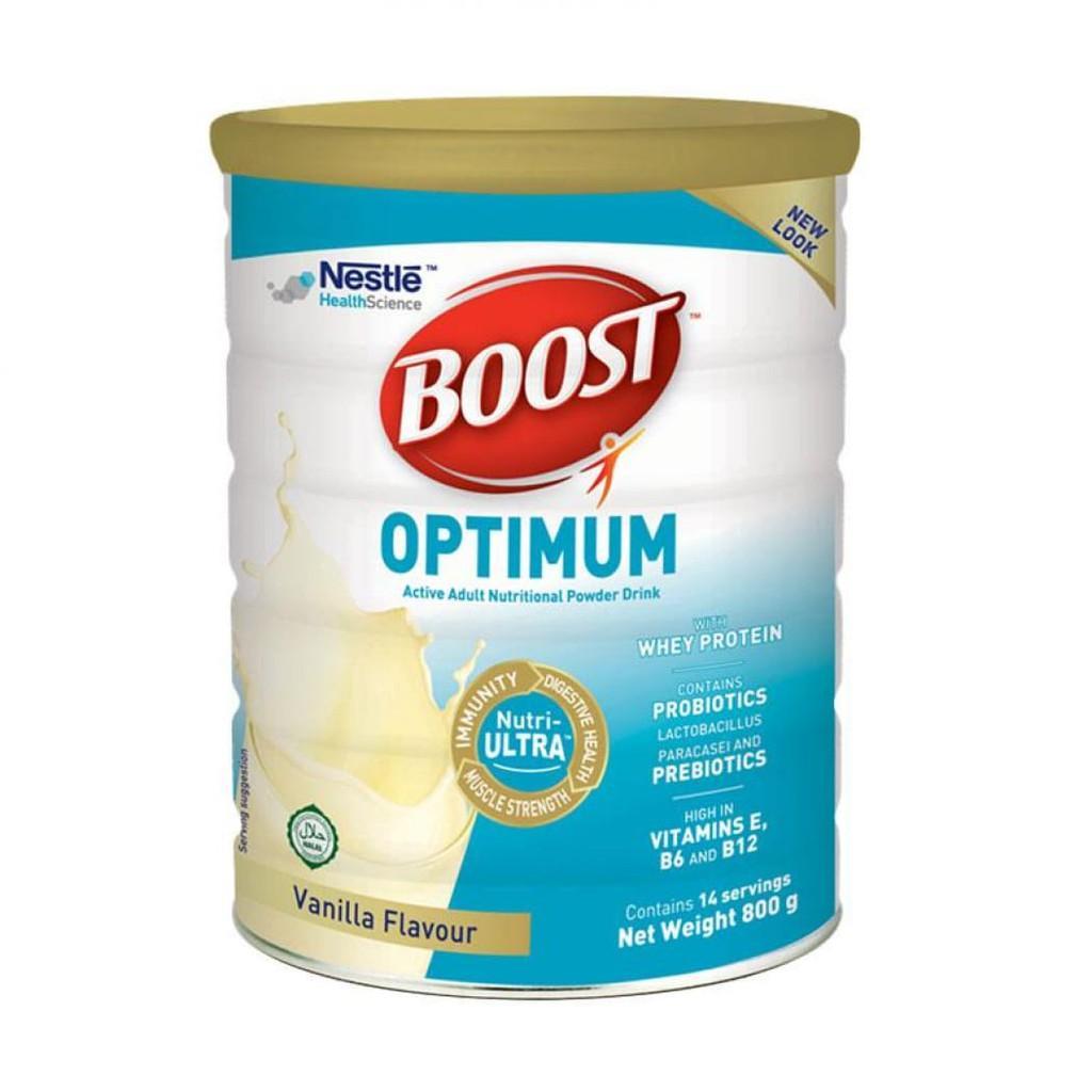 Harga-Nestle Nutren Boost Optimum Vanila 800 gr - Susu pertumbuhan