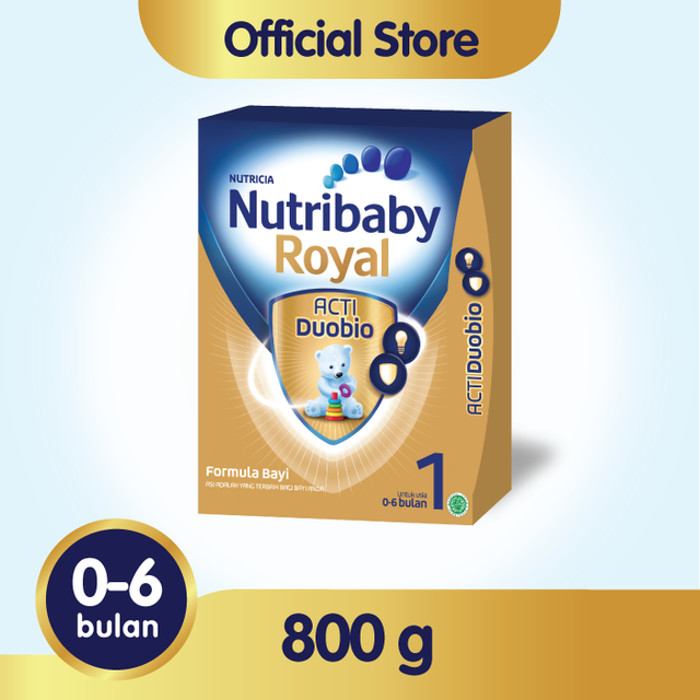 Nutribaby Royal 1 Susu Formula – 800 gr