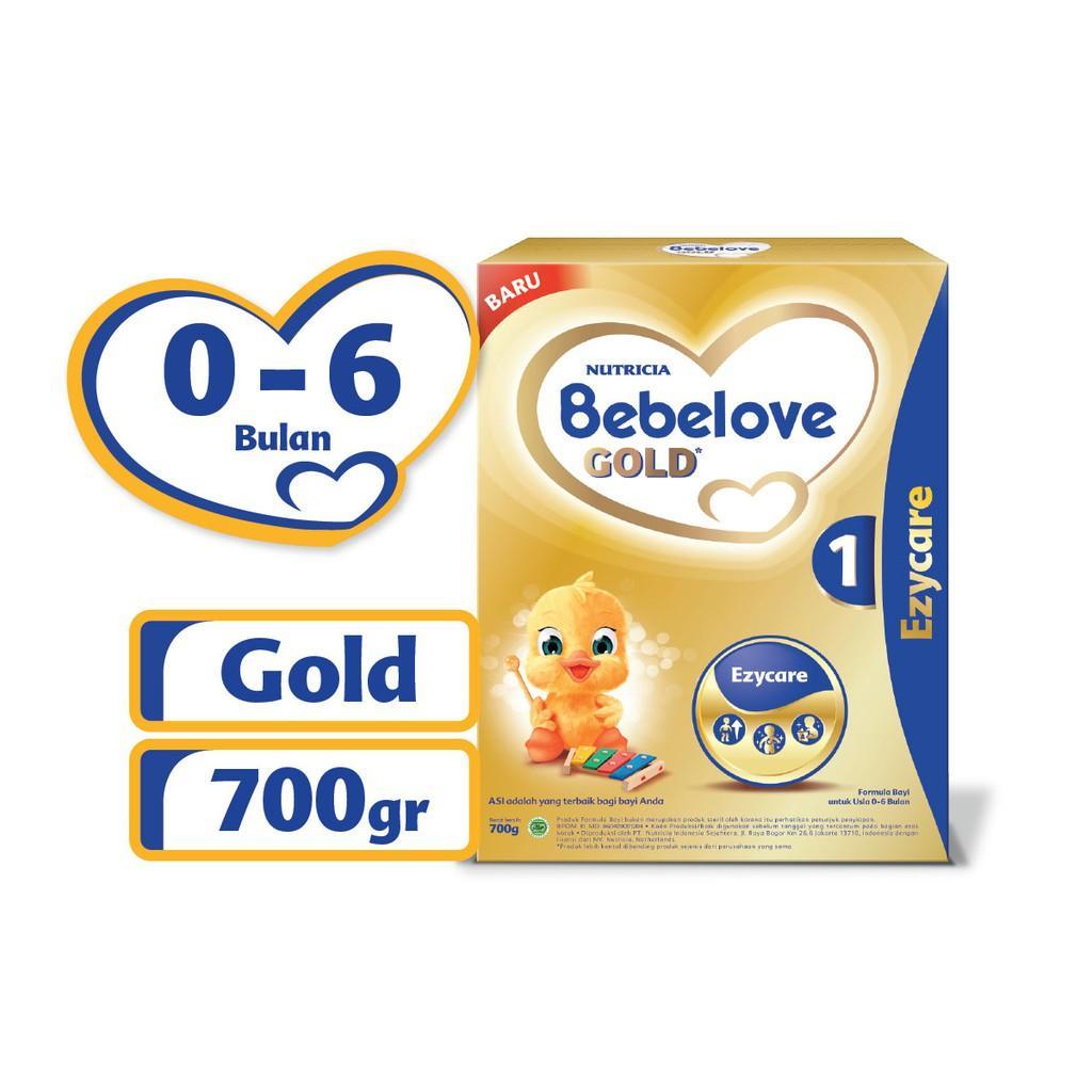 Harga-Nutricia Bebelove Gold 1 700 gr - Susu Formula Bayi 0-6 Bulan