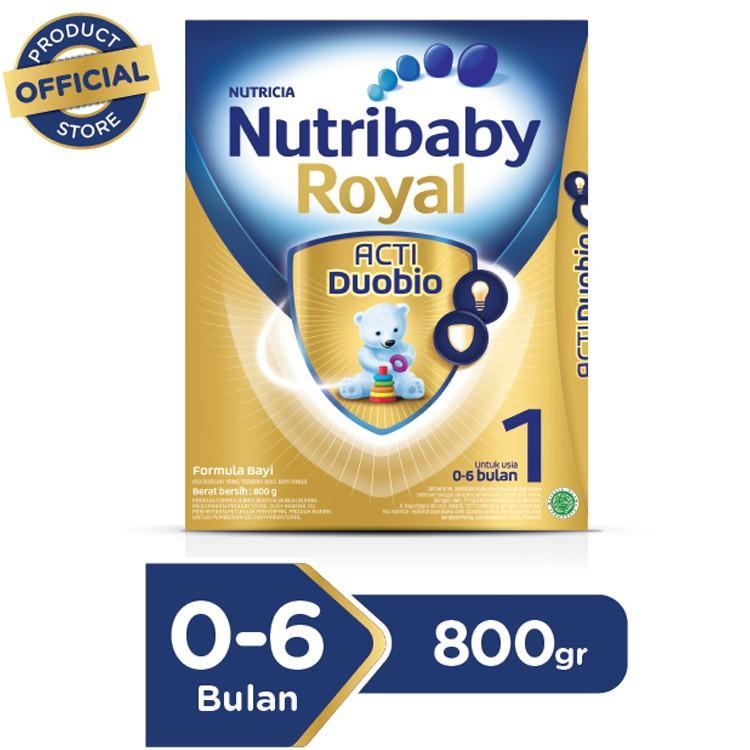 Harga-Nutricia Nutrilon Royal Acti Duobio+ 1 800 gr - Susu Formula Bayi 0- 6 Bulan