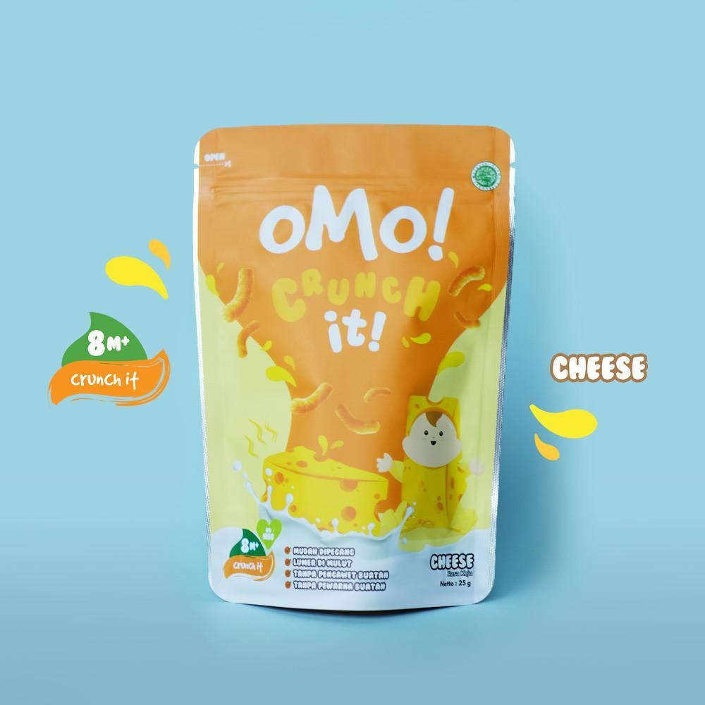 Harga-OMO! CRUNCH IT CHEESE - Snack Sehat Bayi 8 Bulan++