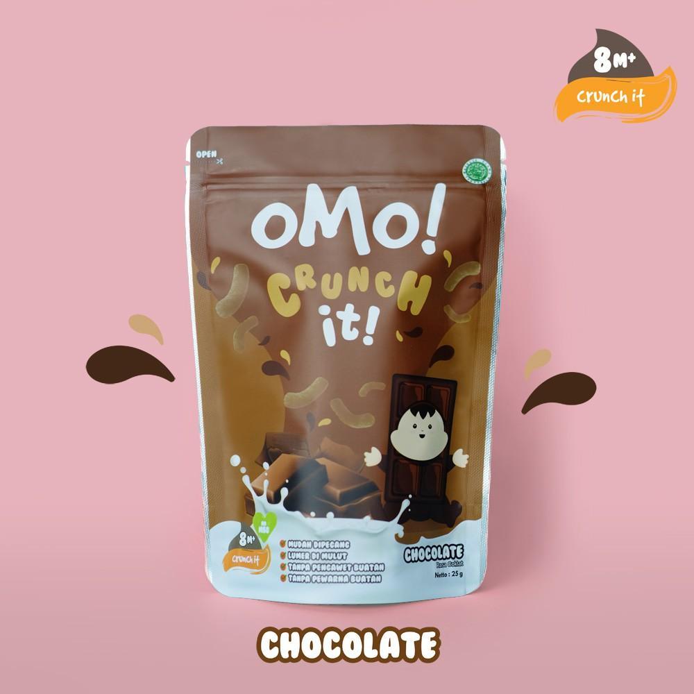 Harga-OMO! CRUNCH IT CHOCOLATE - Snack Sehat Bayi 8 Bulan++