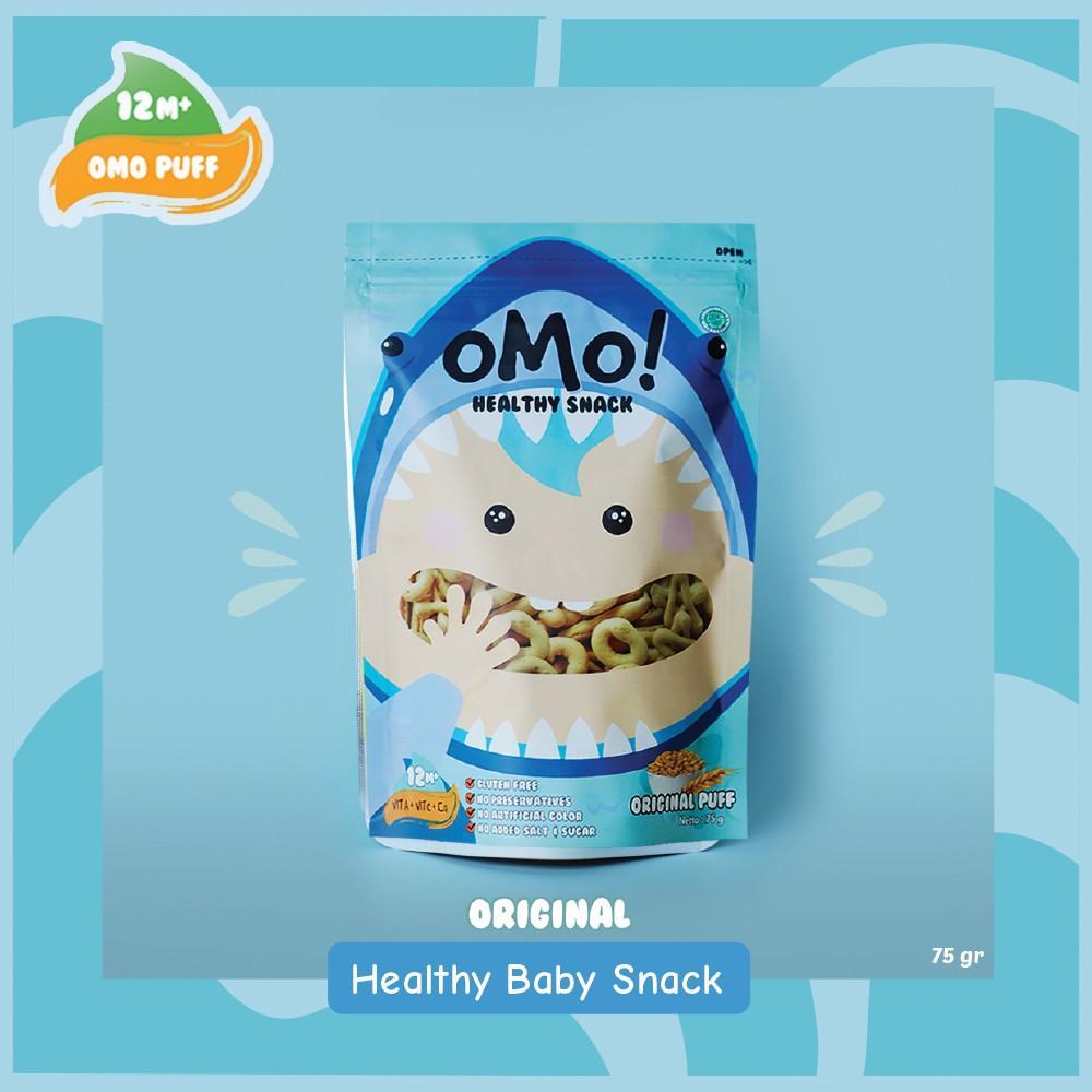 Harga-OMO! Puff Oatmeal - Ukuran Besar 75 gram - Snack Sehat Bayi 1 Tahun++