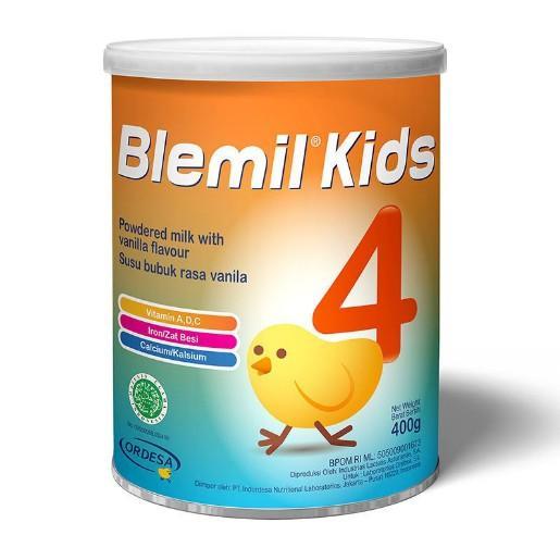 Harga-Ordesa Blemil Kids 4 400g - Susu Pertumbuhan 3 tahun ke atas