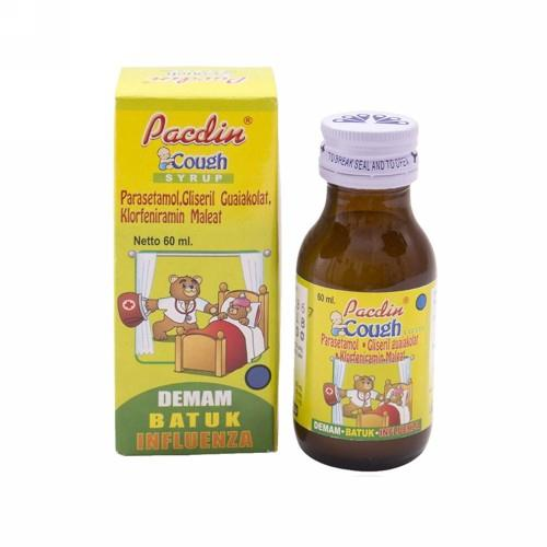 Harga-Pacdin Cough Sirup 60 ml